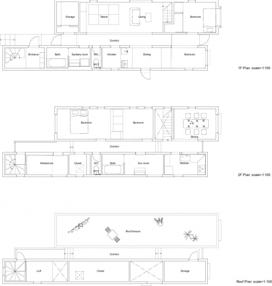 Floor Plan (Courtesy 批给屋, Flickr)