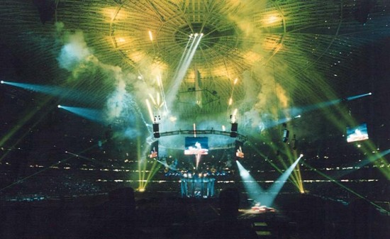 The Astrodome during the 1999 Houston Livestock Show & Rodeo (Courtesy Gary Hunt/flckr)