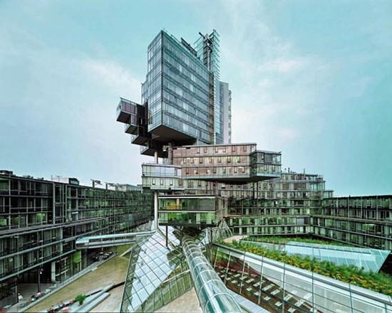 Norddeutsche Landesbank in Hannover, Germany by Behnisch Architekten