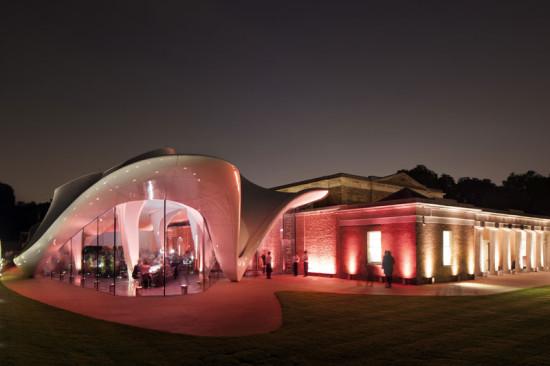 Serpentine Sackler Gallery (Courtesy of Zaha Hadid Architects)