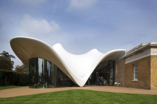 Serpentine Sackler Gallery (Courtesy of Zaha Hadid Architects)