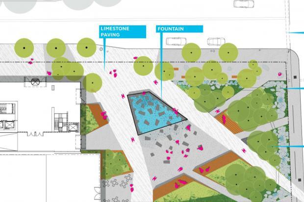 Park Site Plan (Courtesy of JDS)