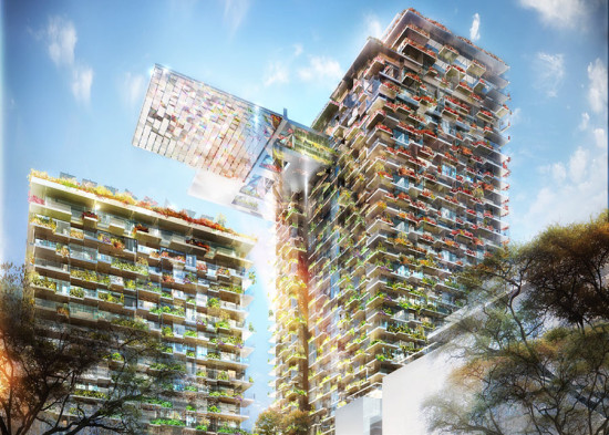 Rendering of Sydney's One Central Park tower. (Courtesy Atelier Jean Nouvel)