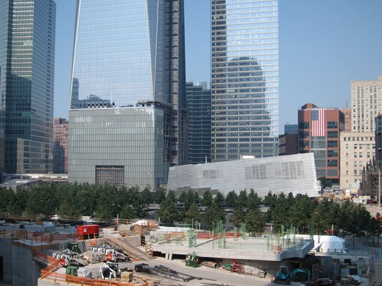 The World Trade Center site on September 11, 2013. (Branden Klayko / AN)