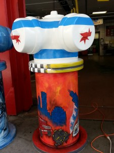 the wintrust hydrant by anna celander (the Great Chicago Fire Hydrants)