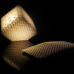 Volume.MGX Lamp by Dror Benshetrit (2009) is made my .MGX by Materialise from laser sintering polyamide (courtesy .MGX Materialise)