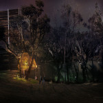 Casa del Arbol is wired for LED lighting. (courtesy Rojkind Arquitectos)