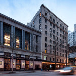 Skylab Architecture renovated the ground floor common spaces at the W Seattle. (Boone Speed/Skylab Architecture)
