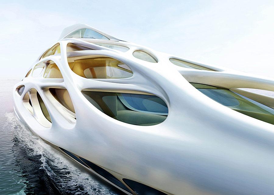 Zaha Hadid Designs A Superyacht