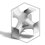 The physics simulation plug-in generated the smooth, sinuous surface. (courtesy SOFTlab)