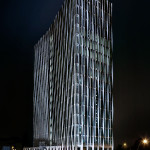 French energy company, Total, is the new building's first tenant. (Johannes Foerster)