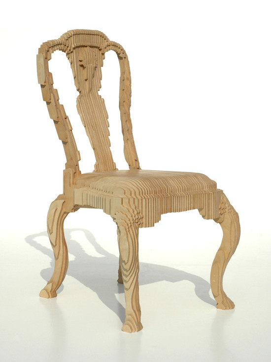 The Clone Chair by Julian Mayor from 2005 (Julian Mayor and Topaz Leung)