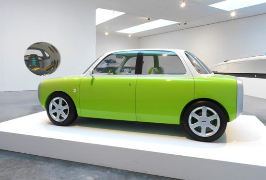 Ford 021C Concept Car, 1999. Designed by Marc Newson, Australian, born 1963. Carbon fiber, aluminum, plastic (Photography Ford Motor Company / Courtesy Philadelphia Museum of Art)
