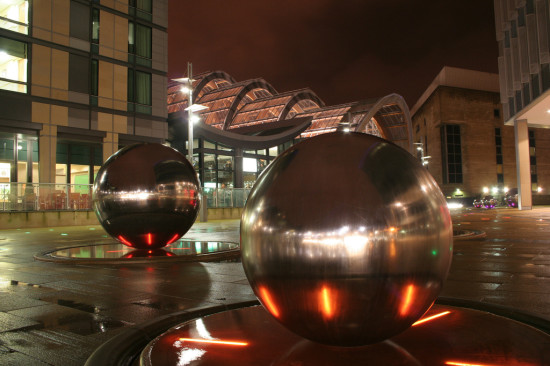 Sheffield City Center (Courtesy Tim Webber / Flickr)