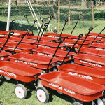 Red Wagons Help Illustrate Green Infrastructure in Seattle