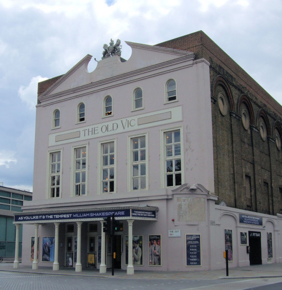 The Historic Old Vic Theatre in London is Set for Necessary Restoration. (Courtesy Jim Lonwood / Flickr)