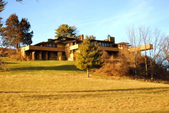 According to the List, Frank Lloyd Wright's Taliesin in Spring Green, Wisconsin Is in Danger of Disrepair. (Courtesy Casey Eisenrich / Flickr)