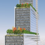 Paris Courthouse, Green Roof (Renzo Piano Building Workshop)
