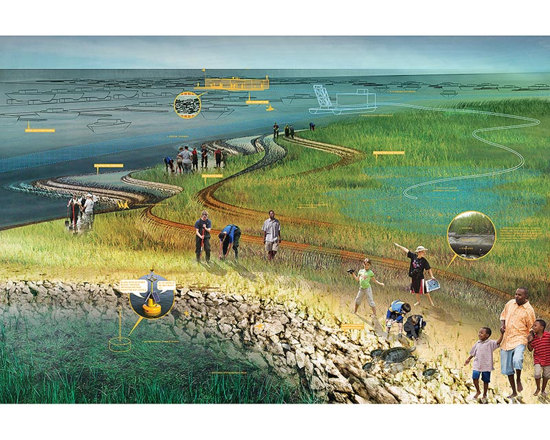 SCAPE/Landscape Architecture's proposal (Courtesy of SCAPE/Landscape  Architecture) - Rebuild By Design> Ten Proposals For A Resilient East Coast