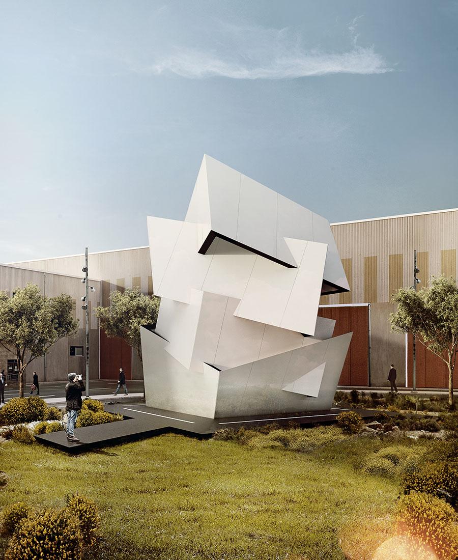 Q a daniel libeskind on cosentino 39 s dekton architecture for Daniel libeskind architectural style