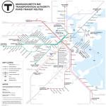 Finalist Joshua Simoneau's map (Courtesy of MBTA/Joshua Simoneau)