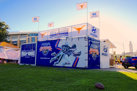Modular Tailgating with the Hyundai Field House (Courtesy Boxeman Studios)