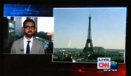 AN Executive Editor Alan G. Brake discusses iconic architecture on CNN.