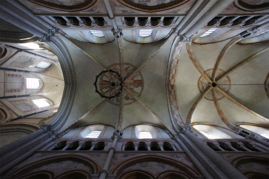 Ceiling of the Limburg, Germany cathedral. (barnyz / Flickr)