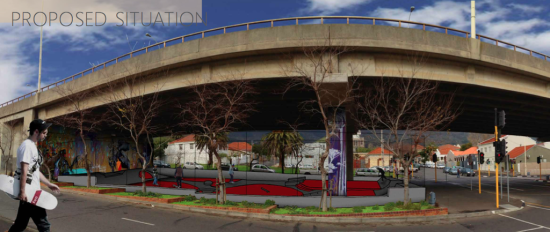 Cape Town Gardens Skatepark (Photo: Building Trust International)