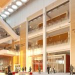 Paris Courthouse, Courtroom (Renzo Piano Building Workshop)