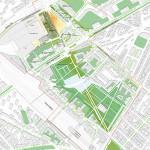 Paris Courthouse, Site Plan (Renzo Piano Building Workshop)
