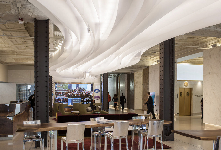 A River Of Light Flows Through Detroit 39 S Renovated First
