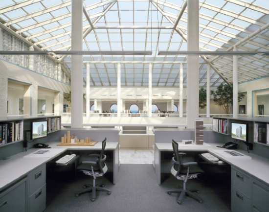 Visit Goettsch Partners' office, located at the top of the Santa Fe building, during Open House Chicago. It's one of 19 design offices open to the public Oct. 19-20. (Chicago Architecture Foundation)
