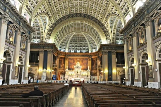 Our Lady of Sorrows Basilica is arguably the grandest church in the city. (anne evans)