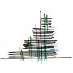 Paris Courthouse, Concept Sketch (Renzo Piano Building Workshop)