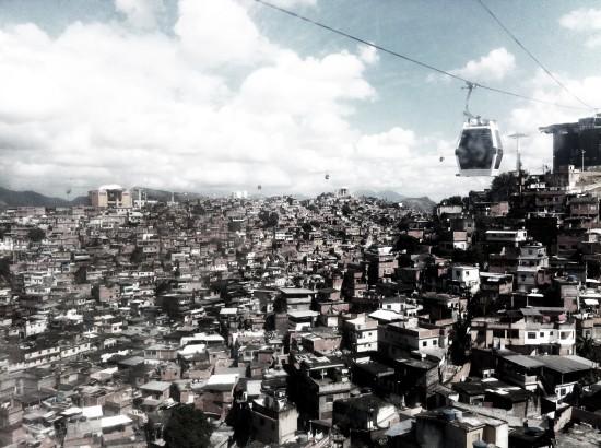 (Morro do Alemão, Rio de Janeiro. photo: Pedro Rivera, RUA Arquitetos)