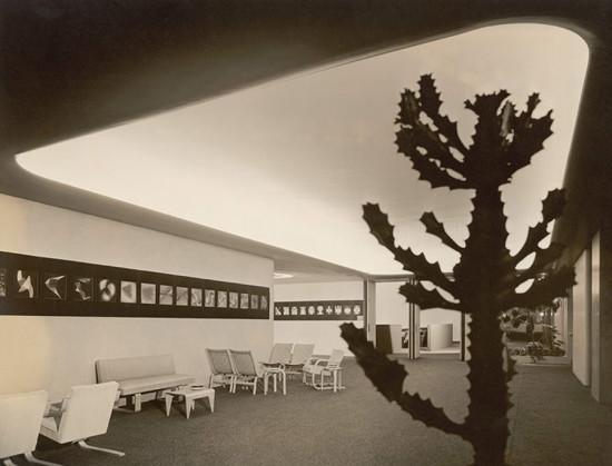 MoMA's Titus Lobby, May 1939. (Robert Damora)