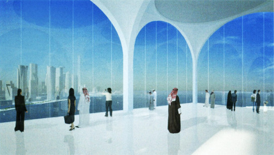 INSIDE THE OUTLOOK TOWER (COURTESY GA BOOK: SOU FUJIMOTO - RECENT PROJECT)