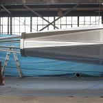 A rain screen provides ventilation for mechanicals like FAA lighting. (courtesy Kammetal)