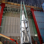 DCM Erectors fabricated a frame to carry the beacon to 1 World Trade Center's apex. (courtesy Kammetal)