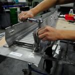 Kammetal designed a proprietary fastening system. (courtesy Kammetal)