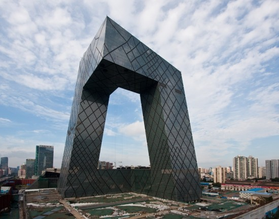 OMA's CCTV Headquarters in Beijing wins Best Tall Building Worldwide (Courtesy CTBUH)