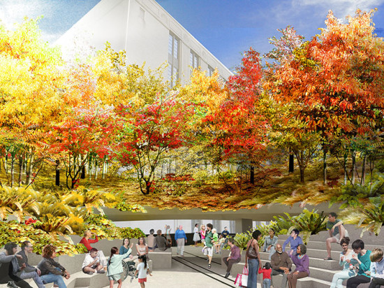 The Spur in autumn(Image James Corner Field Operations and Diller Scofidio + Renfro / Courtesy the City of New York)