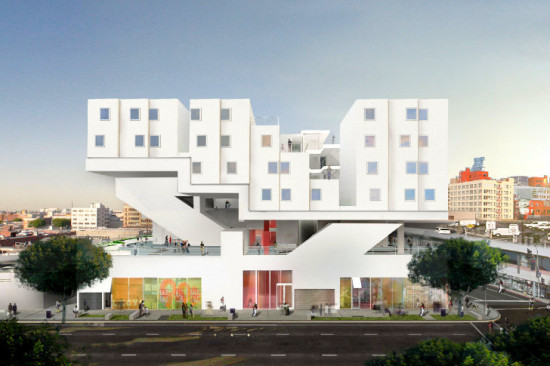 MMA's upcoming Star Apartments (Michael Maltzan Architects)