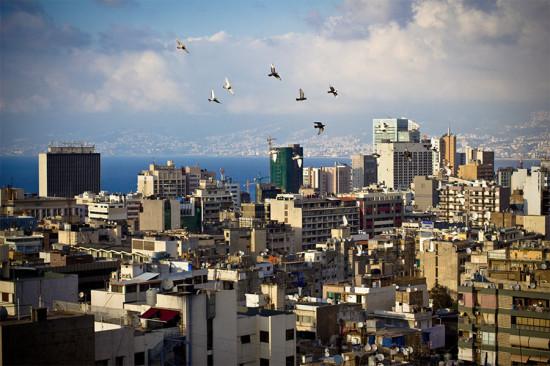 Aerial view of Beirut, Lebanon. (Omar Chatriwala / Flickr)