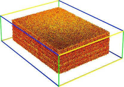 A 3D reconstruction of densely packed colloids, above the jamming point. University of Chicago scientists work to understand the properties of disordered materials. (Nagel Group / University of Chicago)