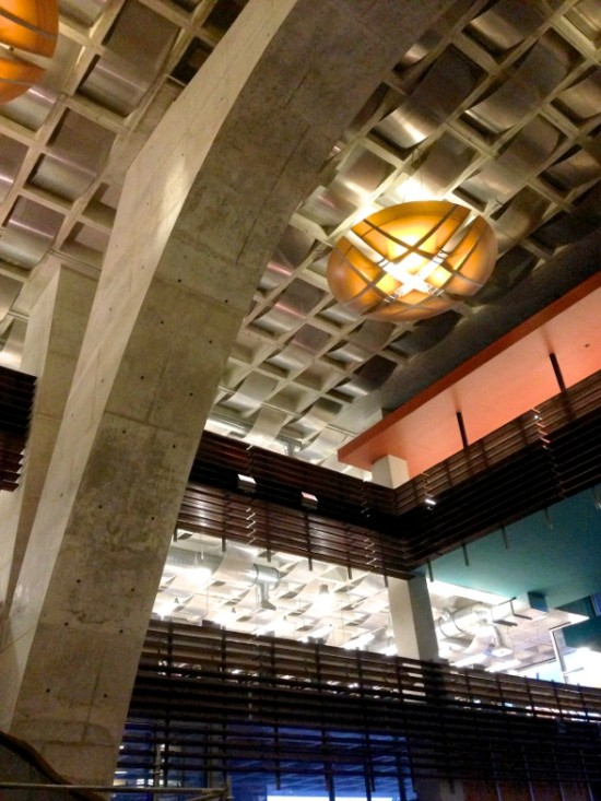 THE NEW CENTRAL LIBRARY WON THE AMERICAN SOCIETY OF CONCRETE CONTRACTORS' 2013 WOW! BEST IN SHOW AWARD (ROB WELLINGTON QUIGLEY, FAIA)