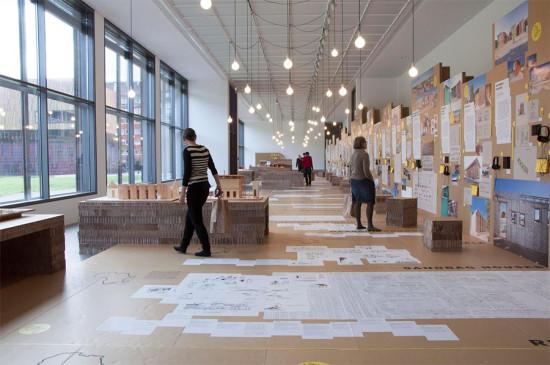 The exhibition.