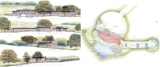 The proposed Pratt House. (NICK HIRST, RIBA/DR. HUGH PRATT)