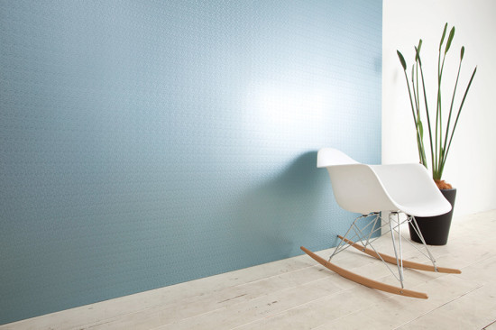 DI-NOC's ease of application also allows for spot repairs when used as a wallcovering. (courtesy 3M Architectural Markets)